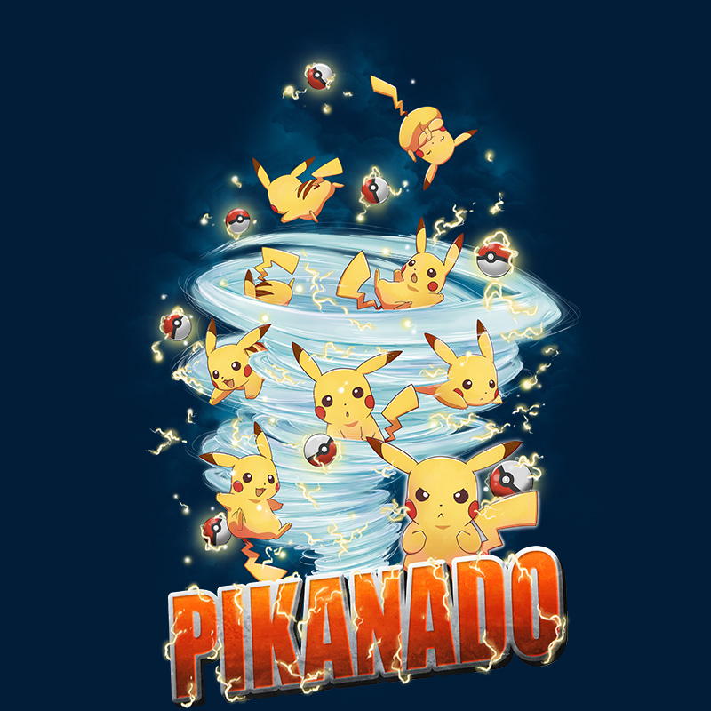 otakudezain, nintendo,pokemon, sharknado, pikachu, gaming, retrogaming, thunder, tornado geek, otaku, tshirt, tshirtdesign, tshirtprint, tshirtslovers, teepublic, tostadora, neatoshop, artwork, fanart, photoshop, illustration