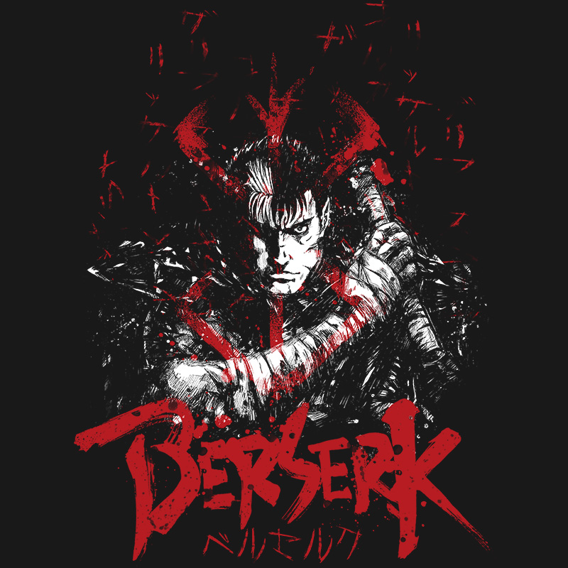 berskek, guts, gatsu, manga, anime, warrior, blood, sword, tshirt, tshirtdesign, tshirtprint, tshirtslovers, artwork, fanart, otakudezain
