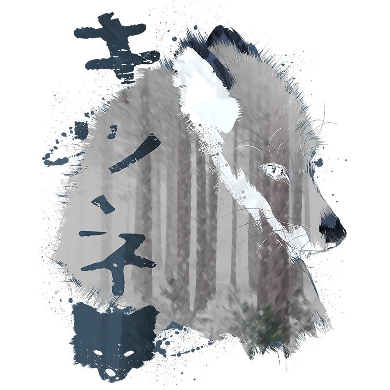 fox, season, spirit, animals, winter, animal, wildlife, nature, tshirt, tshirtdesign, tshirtprint, tshirtslovers, artwork, fanart, otakudezain